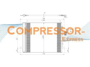 Ford-LandRover-Volvo-Condenser-CO052