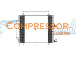 Citroen-Fiat-Lancia-Peugeot-Condenser-CO087