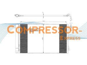 BMW-Condenser-CO113