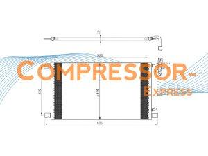 BMW-Condenser-CO116