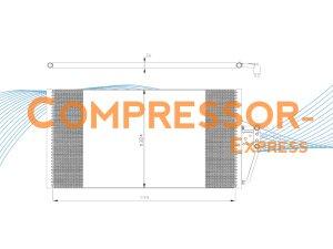 BMW-Condenser-CO119