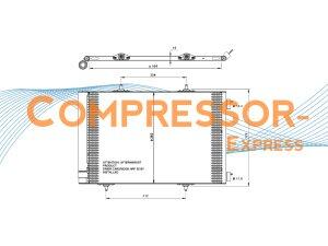 Citroen-Peugeot-Condenser-CO124