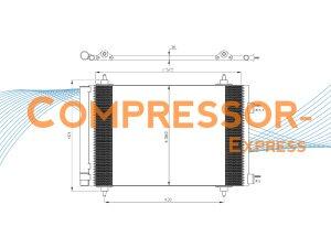 Citroen-Peugeot-Condenser-CO125