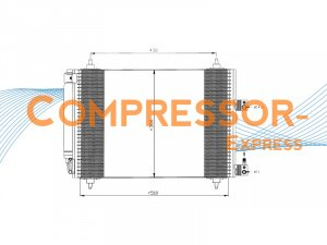 Citroen-Condenser-CO127
