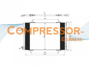Citroen-Peugeot-Condenser-CO130