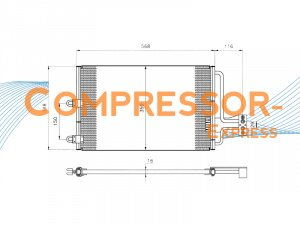 Citroen-Condenser-CO133