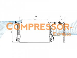 Citroen-Peugeot-Condenser-CO134