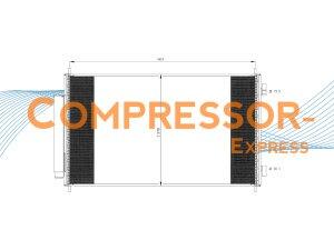 Honda-Condenser-CO177