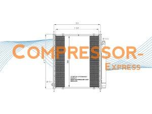 Honda-Condenser-CO178
