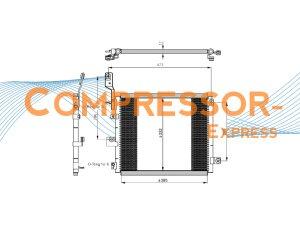 Hyundai-Condenser-CO185