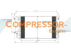 Hyundai-Condenser-CO186