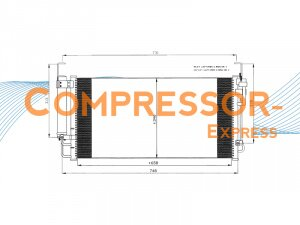 Hyundai-Condenser-CO206