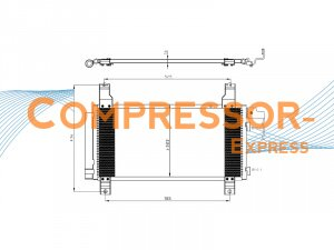 Mazda-Condenser-CO239