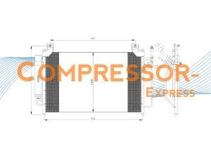 Mazda-Condenser-CO243