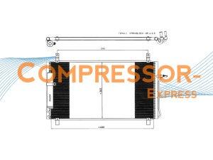 Nissan-Condenser-CO247