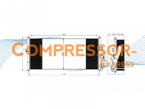 Nissan-Condenser-CO250