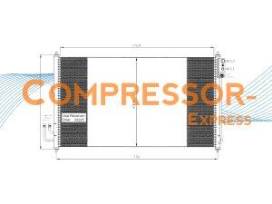 Nissan-Condenser-CO254