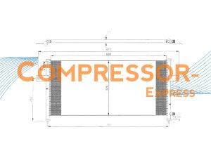 Nissan-Condenser-CO257