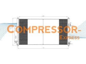 Nissan-Condenser-CO258