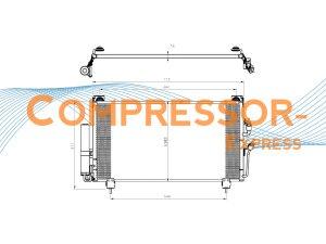 Mitsubishi-Condenser-CO262