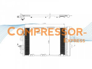 Opel-Vauxhall-Condenser-CO295