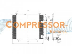Chrysler-MB-Condenser-CO317