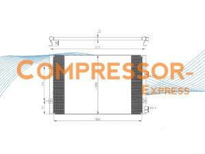 Chrysler-Condenser-CO319