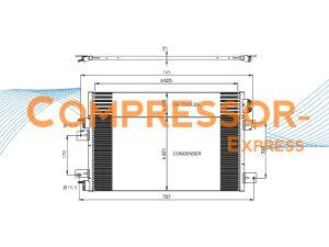 Chrysler-Dodge-Jeep-Condenser-CO323