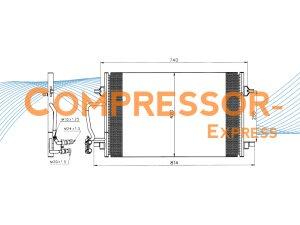 Audi-Condenser-CO329