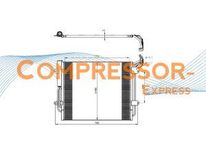 Seat-VW-Condenser-CO331