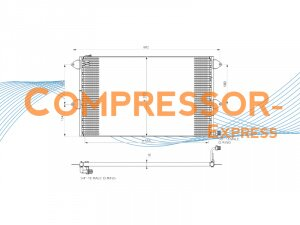 Seat-VW-Condenser-CO333