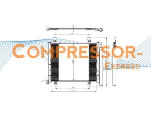 Seat-Skoda-VW-Condenser-CO334
