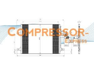 Volvo-Condenser-CO340