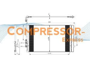 BMW-Condenser-CO371