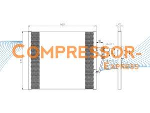 BMW-Condenser-CO372