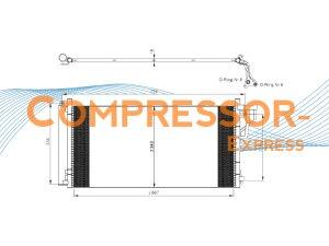 Hyundai-Kia-Condenser-CO383
