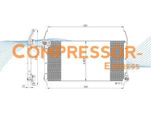 Fiat-Condenser-CO406