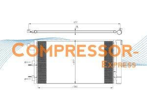 Fiat-Condenser-CO407