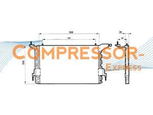 Citroen-Peugeot-Condenser-CO408
