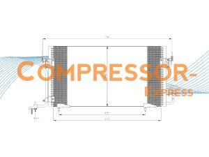Citroen-Peugeot-Condenser-CO409