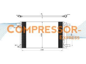 Peugeot-Condenser-CO410