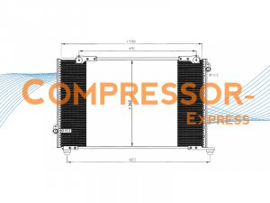Honda-Condenser-CO419