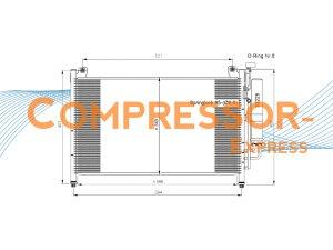 Mazda-Condenser-CO424