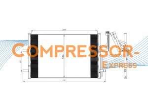 Mazda-Condenser-CO425