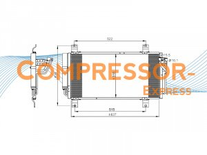 Mazda-Condenser-CO428
