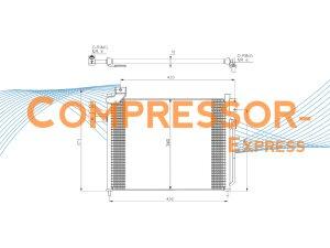 Mazda-Condenser-CO429