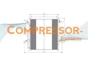 Mitsubishi-Condenser-CO431