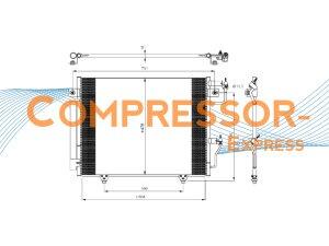 Mitsubishi-Condenser-CO432