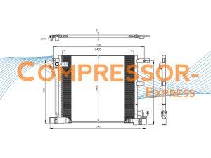 Nissan-Condenser-CO433
