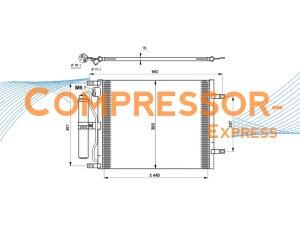 Nissan-Condenser-CO434